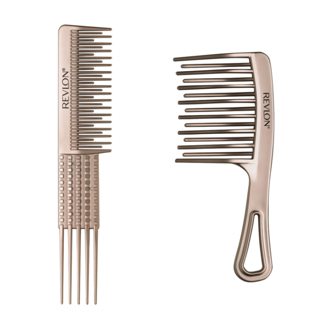 New! Revlon Perfect Style Thick and Curly Combs 09d56231c34